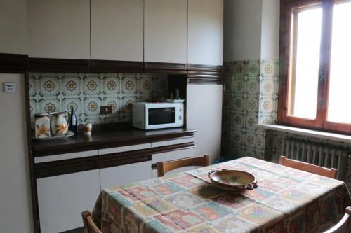 Foto della cucina appartamento Bacco - Azienda Agricola Fiammetta