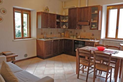 Foto della cucina appartamento Cerere - Azienda Agricola Fiammetta